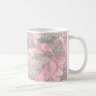 Hydrangea. Pink flowers. Soft Pastel Colors. Coffee Mug