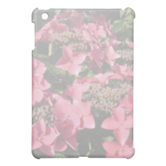 Hydrangea. Pink flowers. Soft Pastel Colors. Cover For The iPad Mini
