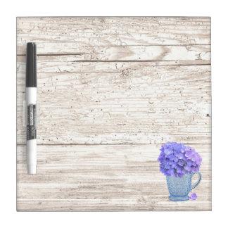 Hydrangea Pitcher Dry Erase Board