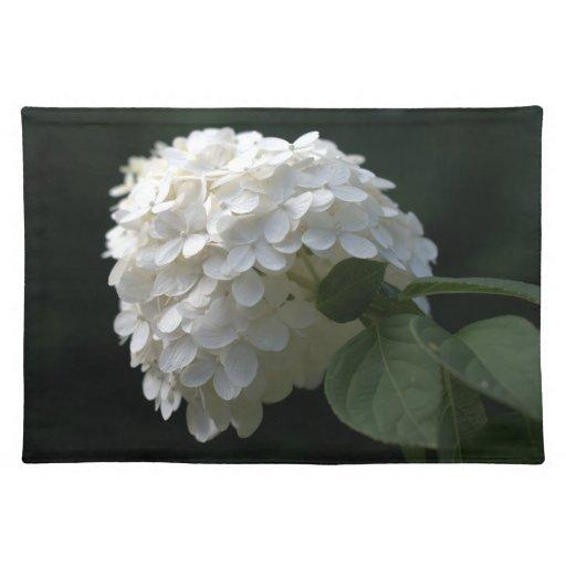 Hydrangea Placemat floral de la cal Manteles