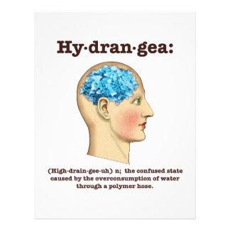 Hydrangea Plantillas De Membrete
