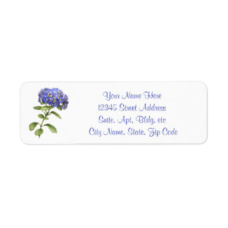 Hydrangea Return Label