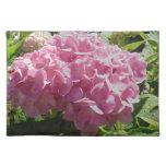 Hydrangea rosado mantel