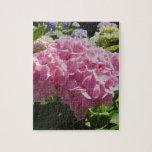 Hydrangea rosado puzzles