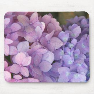 Hydrangea rosado y púrpura Mousepad