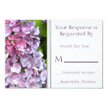 Hydrangea RSVP Card Invitation