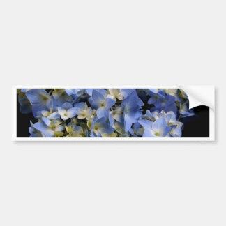 Hydrangea-s6.jpg azul pegatina para auto