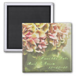 Hydrangea Save the Date Magnet