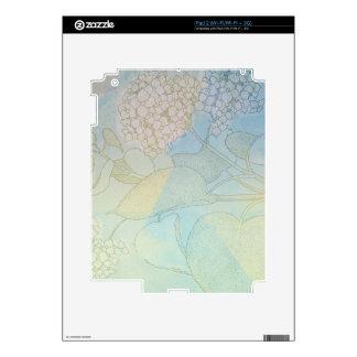 Hydrangea Series Watercolor Botanical Print II Skin For The iPad 2