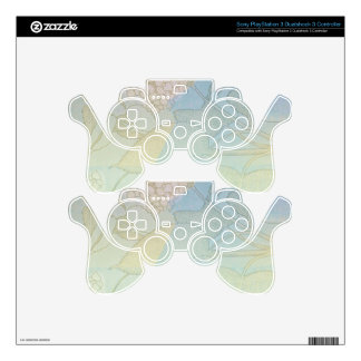 Hydrangea Series Watercolor Botanical Print II Skins For PS3 Controllers