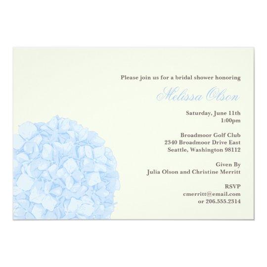 Hydrangea Shower/Party Invitation