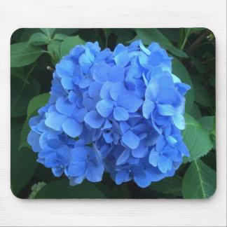 HYDRANGEA so Blue & Green - Mouse Pad