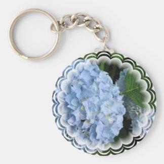 Hydrangea Summer Beauty Keychain