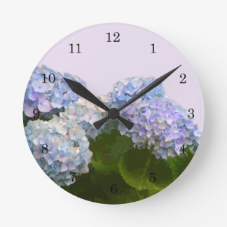 Hydrangea Wall Clock Wall Clock