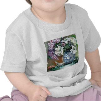 Hydrangeas and White Lillies Tshirt
