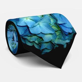 Hydrangeas azules corbata