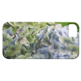 Hydrangeas azules en colores pastel iPhone 5 Case-Mate cárcasa
