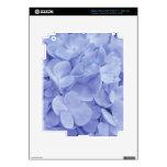 Hydrangeas azules pegatinas skins para iPad 3
