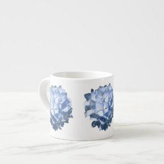 Hydrangeas azules taza espresso