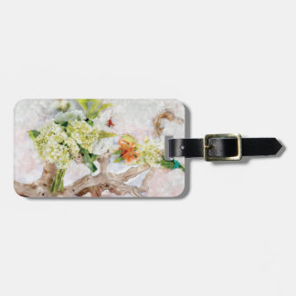 Hydrangeas Bella Watercolor Design By Ana Berger Luggage Tag