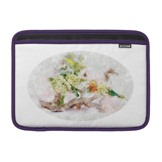 "Hydrangeas Bella Watercolor Macbook Air 11"" Sleeve For MacBook Air"