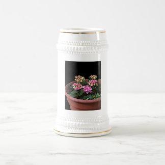 Hydrangeas del bebé taza