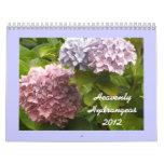 Hydrangeas divinos 2012 calendario