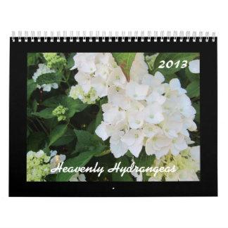 Hydrangeas divinos 2013 calendarios de pared