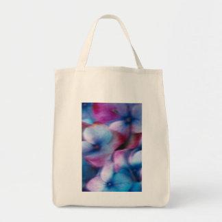 Hydrangeas en el viento bolsa tela para la compra