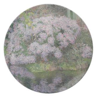 Hydrangeas en los bancos del río Lys, 1898 (oi Plato Para Fiesta