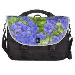 Hydrangeas Laptop Commuter Bag