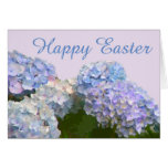 Hydrangeas Large Font Easter Card