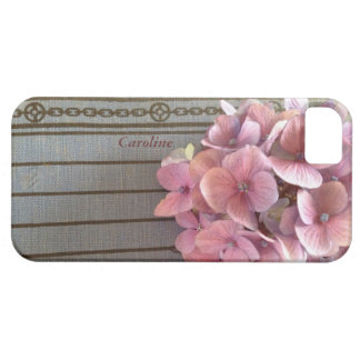 hydrangeas on a 1915 book iPhone 5 barely there iPhone SE/5/5s Case