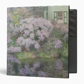 Hydrangeas on the banks of the River Lys, 1898 (oi 3 Ring Binder