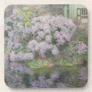 Hydrangeas on the banks of the River Lys, 1898 (oi Coaster