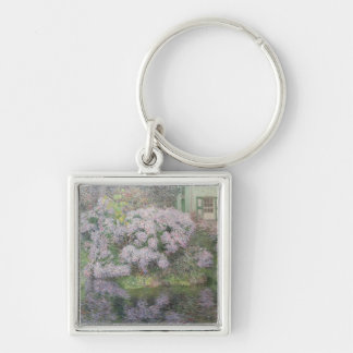 Hydrangeas on the banks of the River Lys, 1898 (oi Keychain