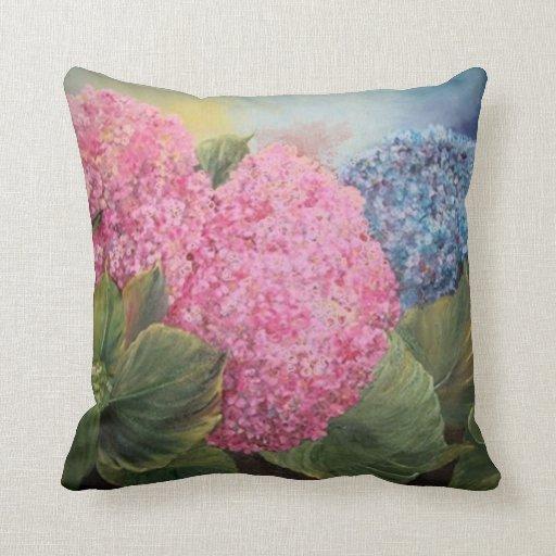 Hydrangeas Pillows