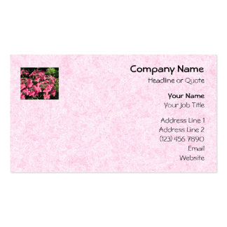 Hydrangeas. Pretty Pink Flowers. Business Card Template