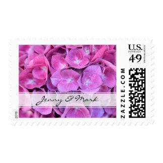 Hydrangeas que casan el sello
