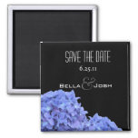 Hydrangeas Save the Date Magnet