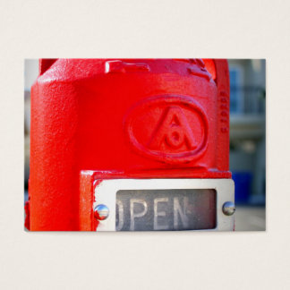 Hydrant Business Card