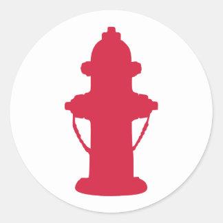 Hydrant Classic Round Sticker