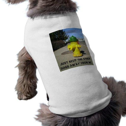 Hydrant Dog Tshirt