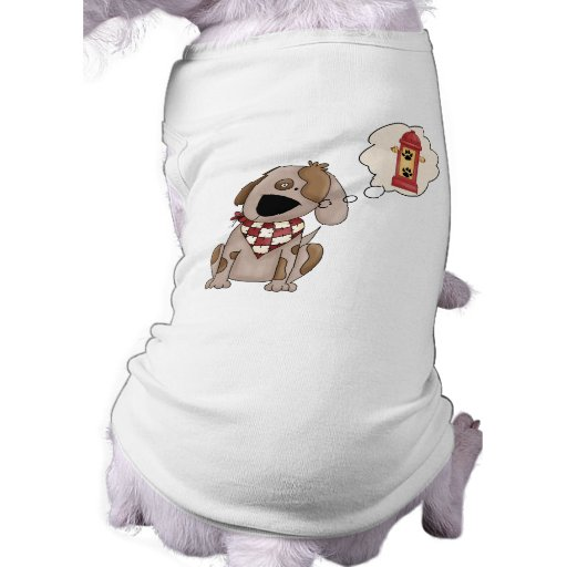 Hydrant Dreams Doggie T Shirt