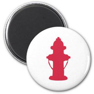 Hydrant 2 Inch Round Magnet