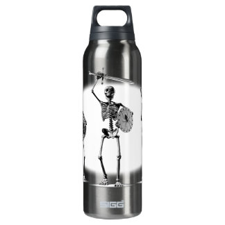 Hydra's Teeth Skeletons 16 Oz Insulated SIGG Thermos Water Bottle