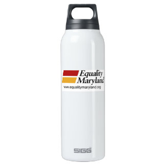 Hydrate with Equality 16 Oz Insulated SIGG Thermos Water Bottle