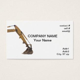 hydraulic arm business card
