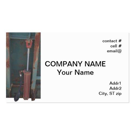 Hydraulic cylinder business card