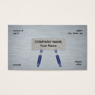 hydraulic cylinder concept business card